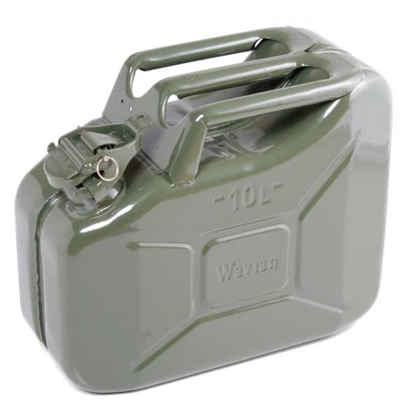 2 64 Gallon 10 Liter Olive Drab Steel Wavian Jerry Can