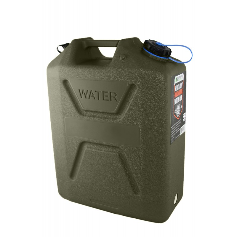 20 Liter 5 Gallon Blue Steel Wavian Jerry Can W Spout